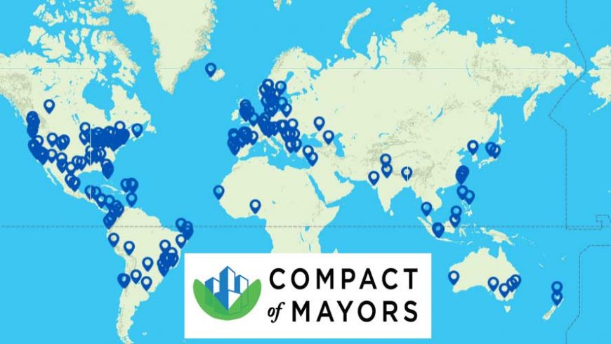 Mayor Sendzik joins Compact of Mayors working together to address climate change