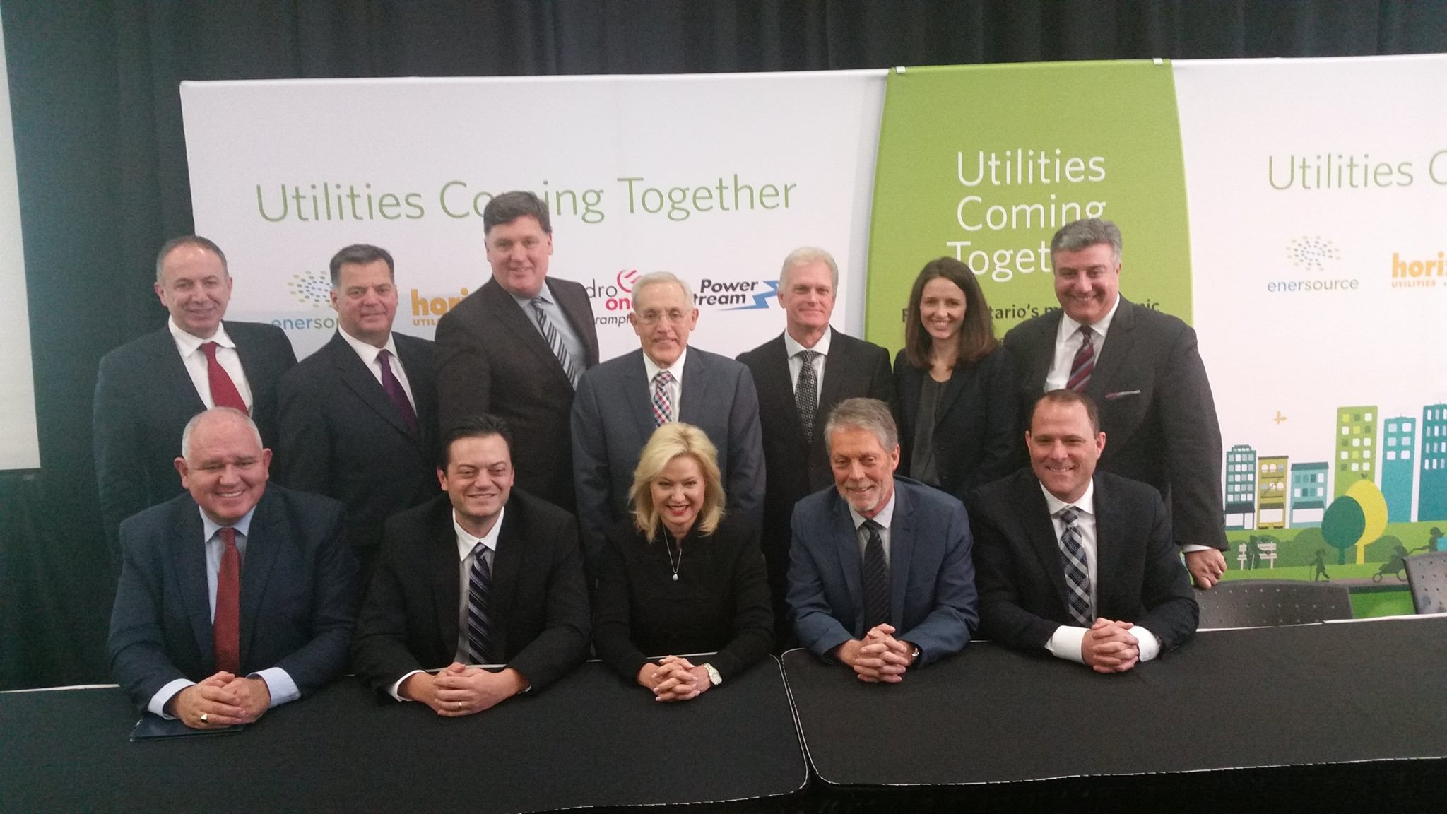 Horizon Utilities Merger is Signed
