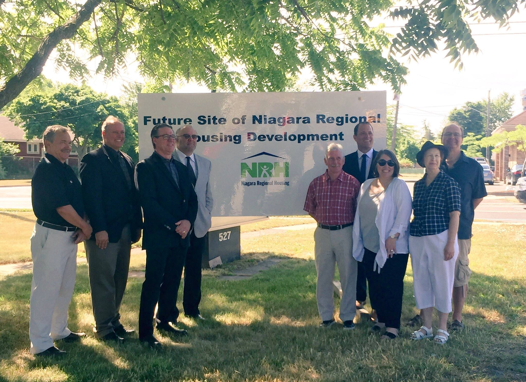 Niagara Regional Housing Announcement