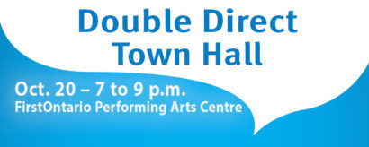 Double-Direct Town Hall Meeting