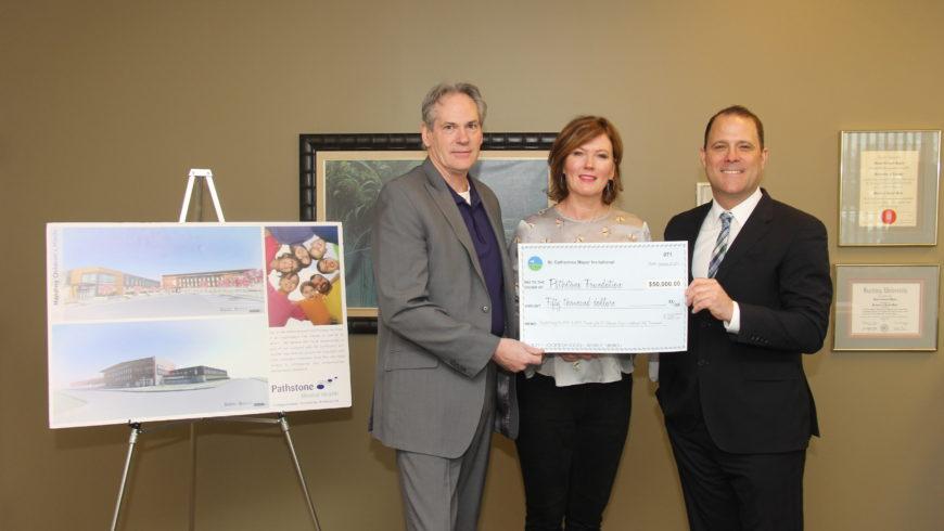 Mayor's Invitational Golf Tournament presents $50,000 to Pathstone Foundation
