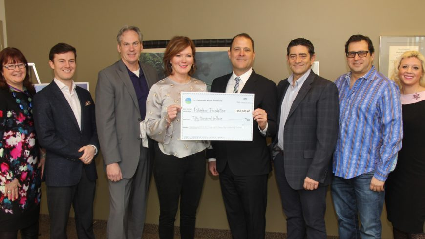 Mayor's Invitational Golf Tournament presents $50,000 to Pathstone Foundation