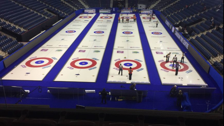 Scotties Tournament of Hearts have arrived in #OurHomeSTC
