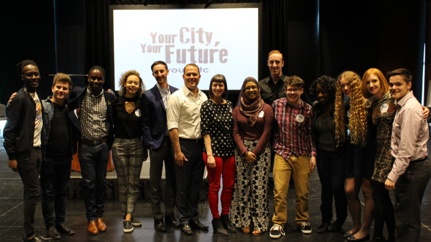 #AskSendzik: Youth have ideas for city's future