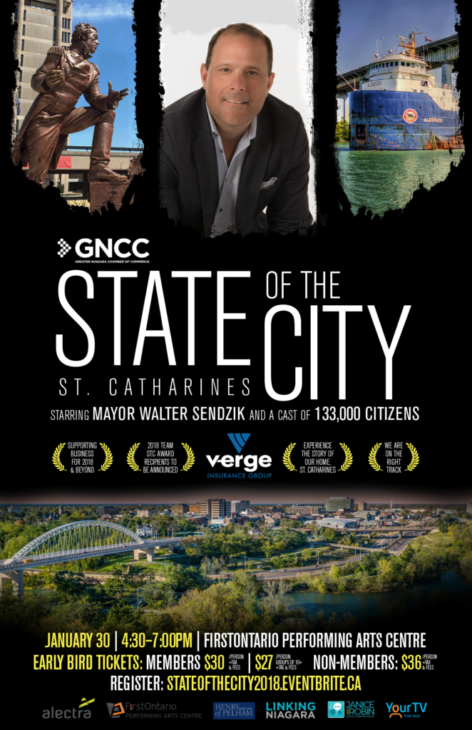 State of the City Poster 2018
