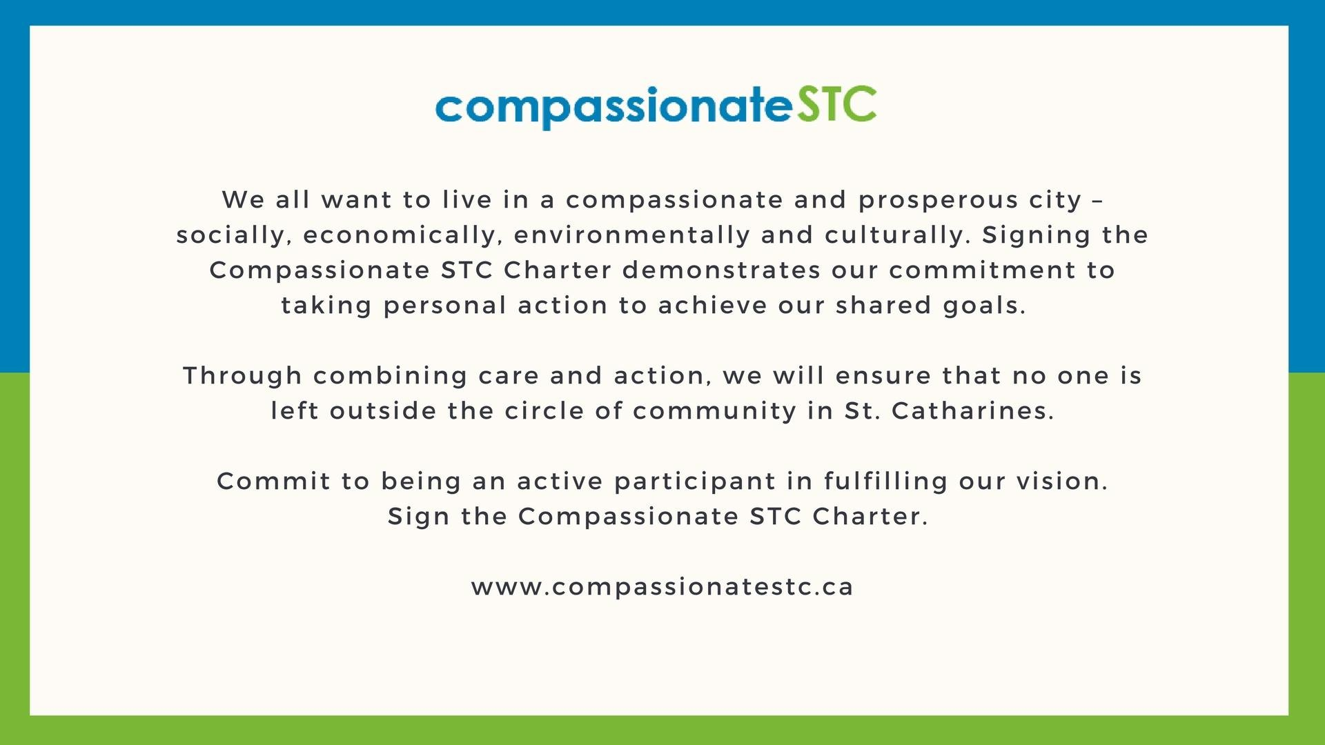 St. Catharines: A Compassionate City