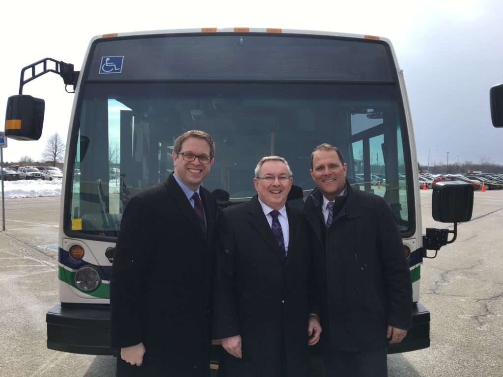 Transit funding announcement, March 2018