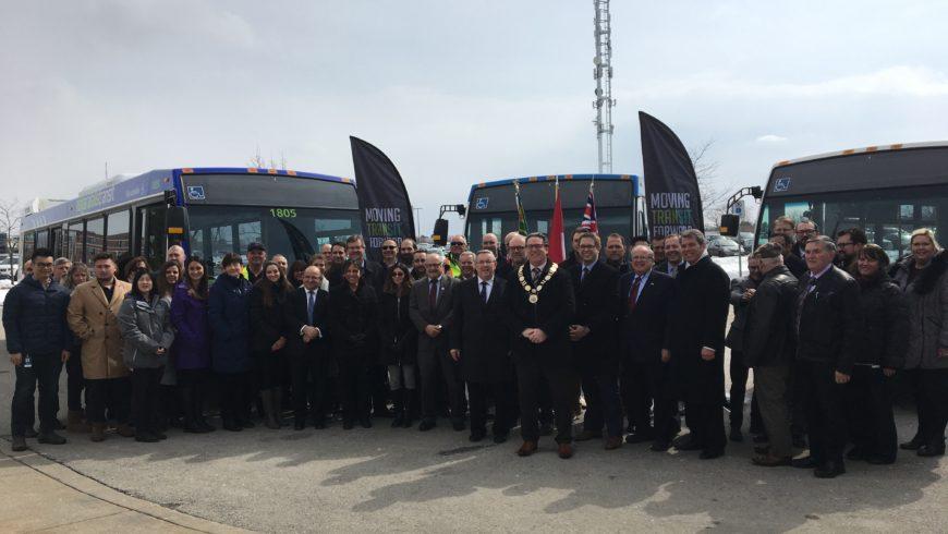 Niagara gets $149 million for transit
