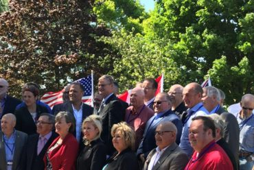 Canadian and US Mayors reject rhetoric, stand united for shared economic prosperity