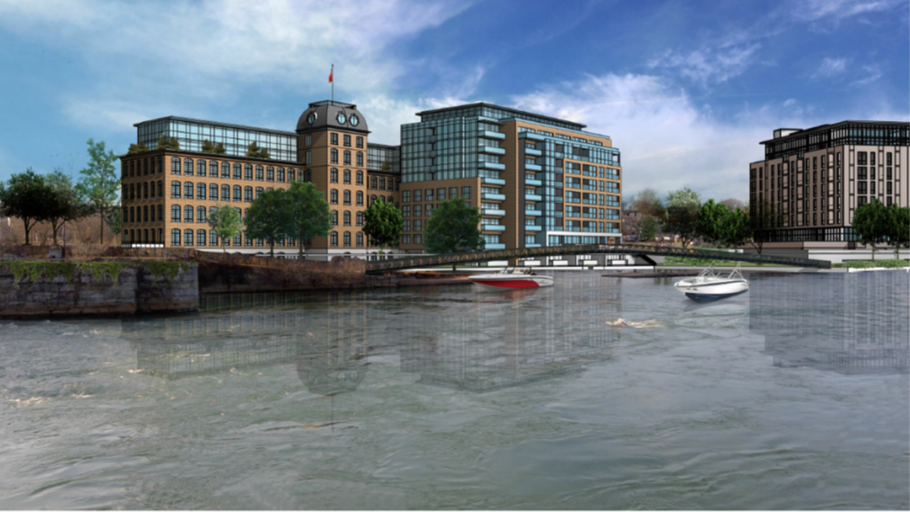 Lincoln Fabrics rendering waterfront