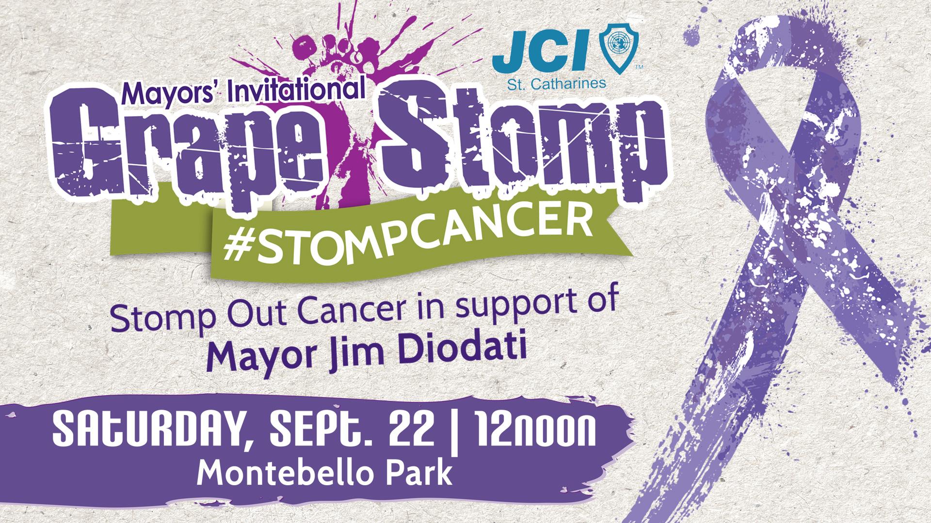 Mayor's Invitational Grape Stomp, Sept. 2018