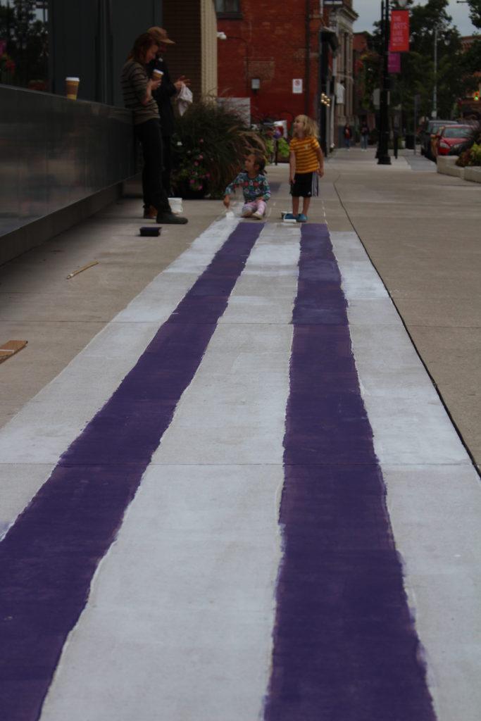 Two Row Wampum, Community Art project