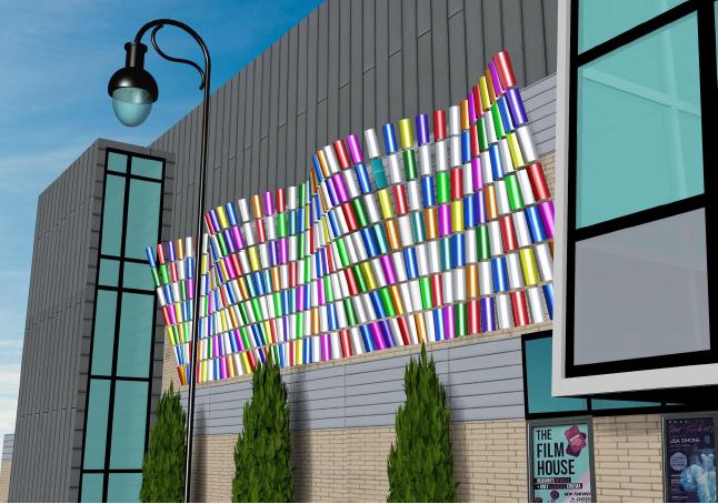 Curtain Call, public art