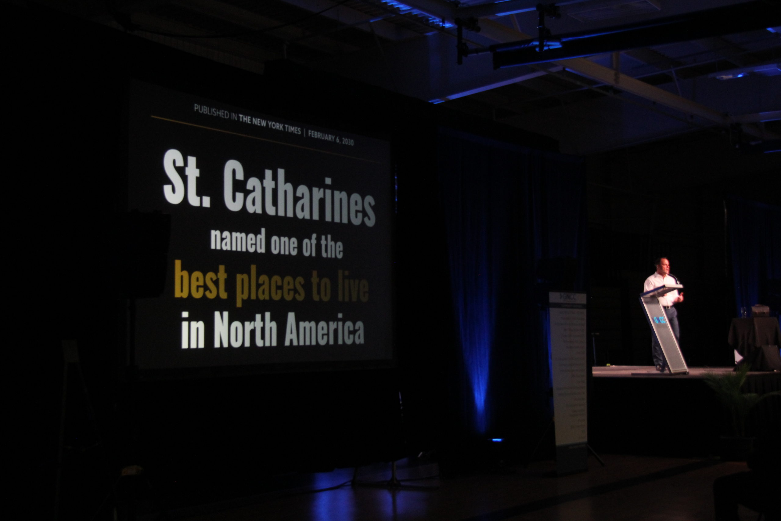 Mayor's state of the city celebrates pride and momentum in St. Catharines
