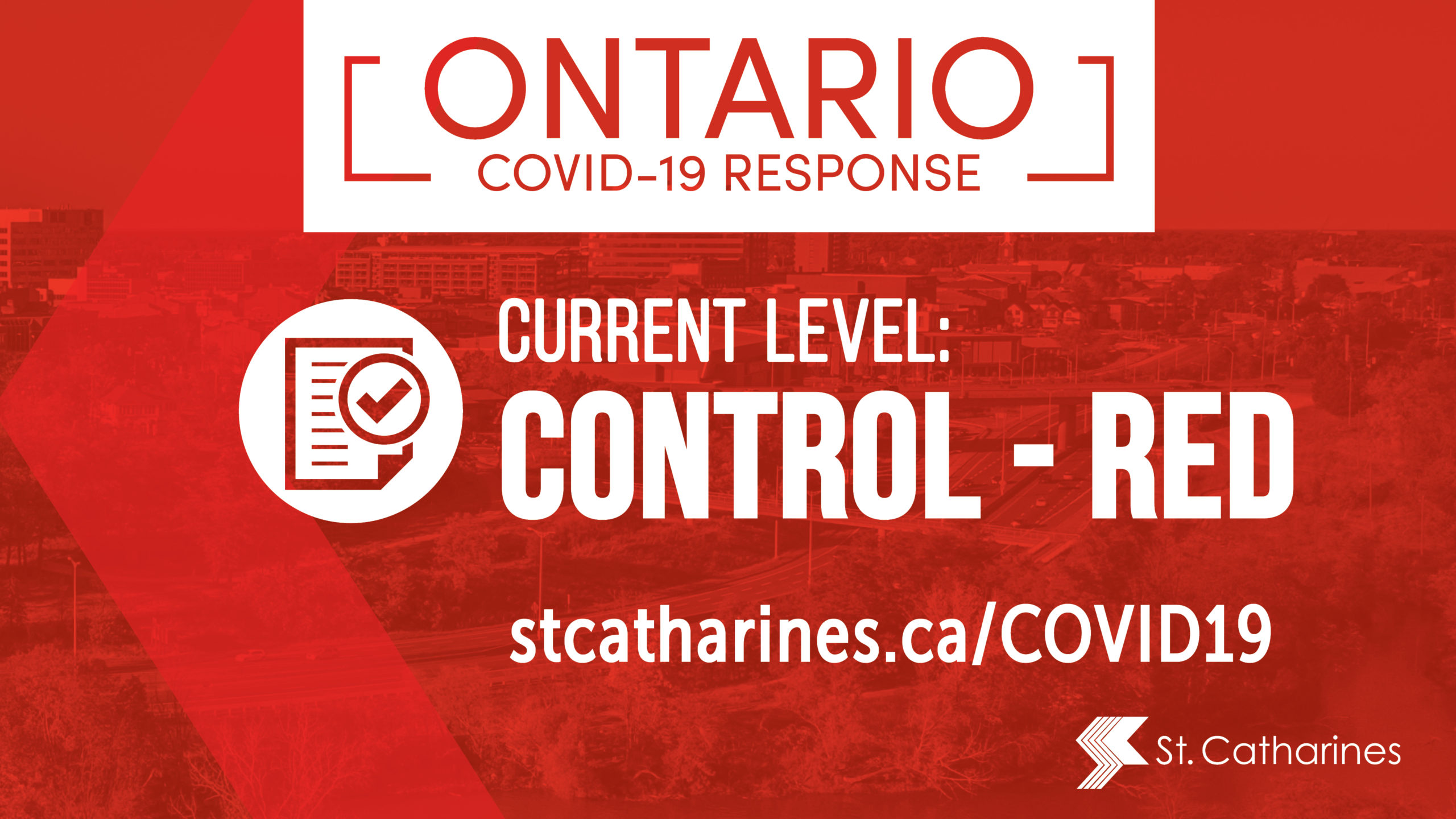 Statement from Mayor Sendzik on Niagara moving into RED category of provincial COVID-19 response framework