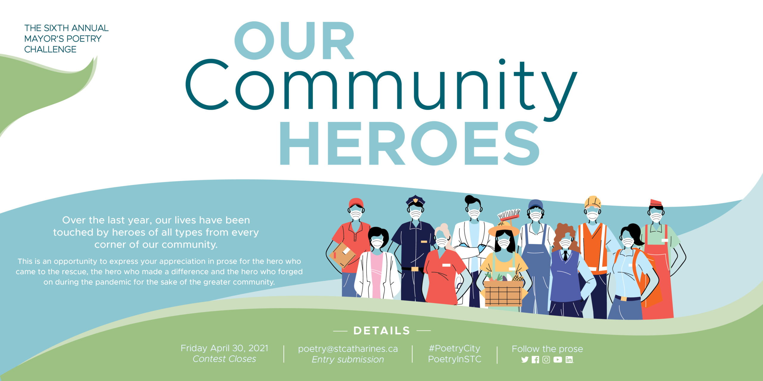 Mayor's Poetry Challenge celebrates 'Our Community Heroes'