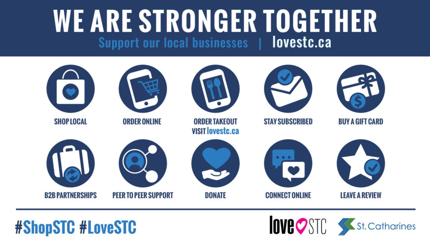 Statement of support for Niagara's small businesses from Regional Chair and Niagara Mayors